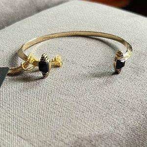House of Harlow 1960 sugarloaf cuff bracelet gold